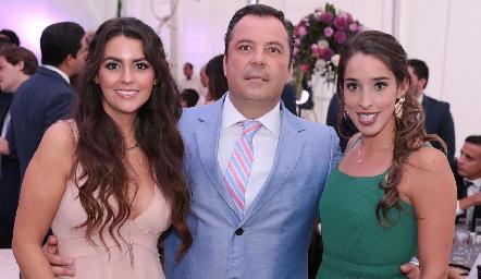 Vicky Álvarez, David Lozano y Marijó Ascanio.