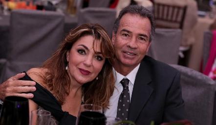 Nuria Lozano y José Luis Hernández.