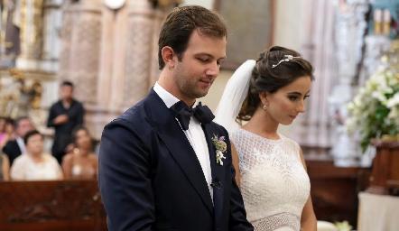 Alejandro Abud y Lorena Andrés.