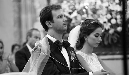 Alejandro Abud y Lorena Andrés .