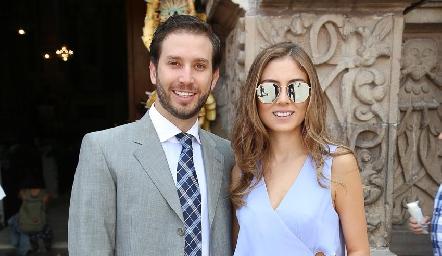 Andrés Torres y Elizabeth Treviño .