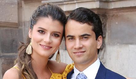 Daniela Meade y Rodrigo Andrés.