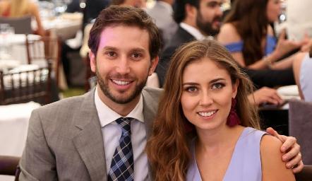 Andrés Torres y Elizabeth Treviño.