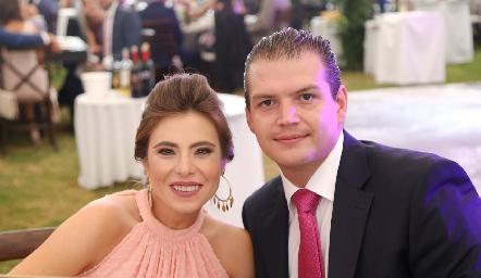 Claudia Oliva y Mauricio Ruiz .