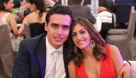 Xavier Azcárate y Patricia Gómez.