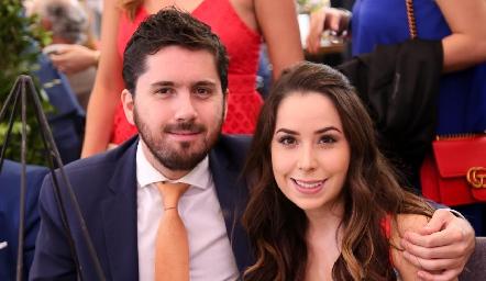 Fabián Martínez y Carolina Gutiérrez .