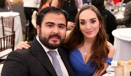 Pedro Leal y Marcela Elizondo.