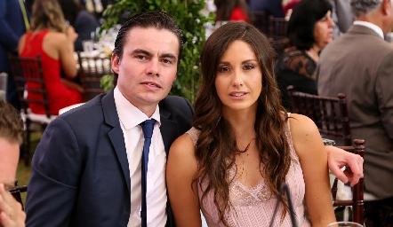 Juan Carlos Flores y Alejandra Díaz Infante .