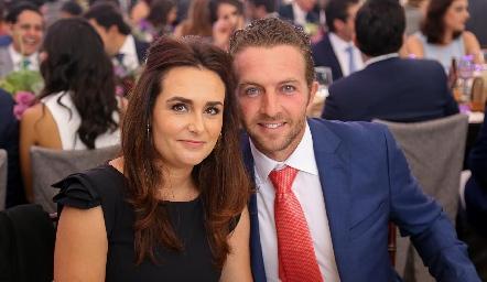 Karla y Jorge Hernández .