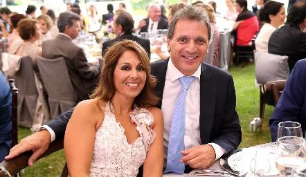 Mónica Monroy y Ricardo Abud.