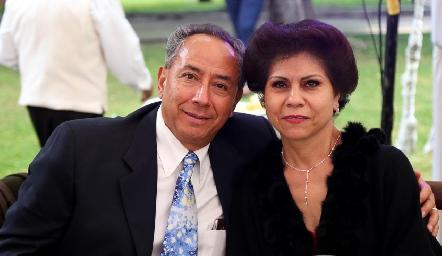 Jorge Navarro y Martha Zúñiga.