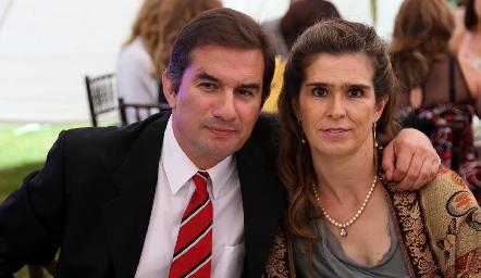José Luis Andrés y Laura de Andrés.