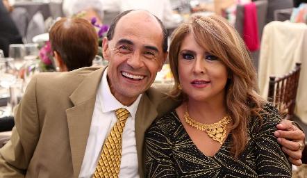 Edgar Castro y Claudia Cárdenas.