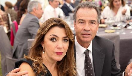 Nuria Lozano y José Luis Hernández .