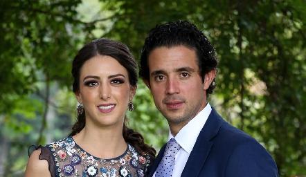 Catalina Abud y Roberto Mejía.