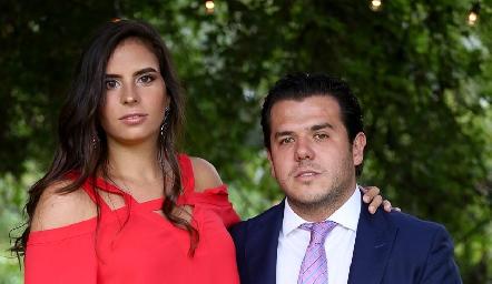 Daniela de la Fuente y Jorge Torres.