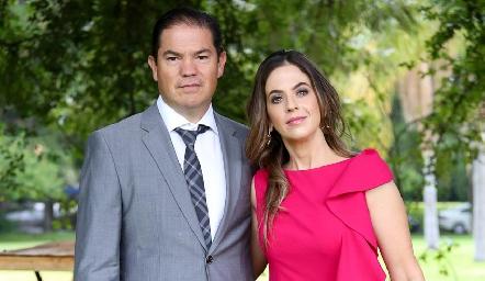 Jorge Acebo y Gabriela Lara.