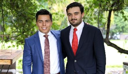 Lisandro Bravo y Fernando Gutiérrez.