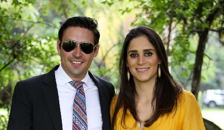Pepe Alonso y María Rosa Mejía.