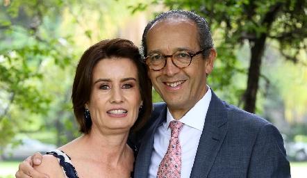Gabriela Andrés y Enrique Díaz Infante.