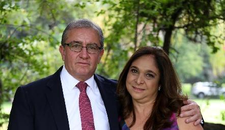 Manuel y Rebeca Villasuso.