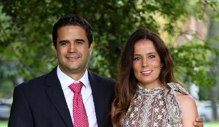 Roberto Bretón y Patricia Quiroz.