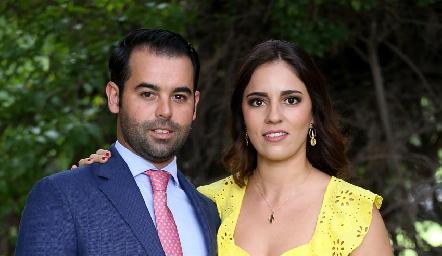 Fernando Labastida y Andrea Espinosa.