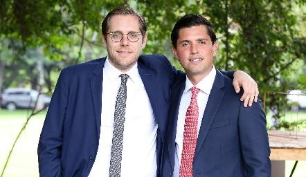 Pepe Santos y Gerardo Serrano.