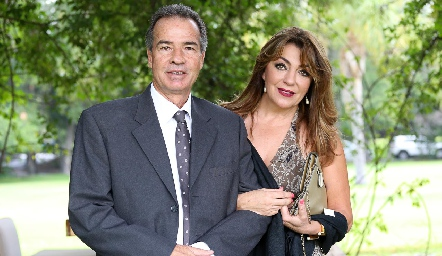 José Luis y Nuria Hernández.
