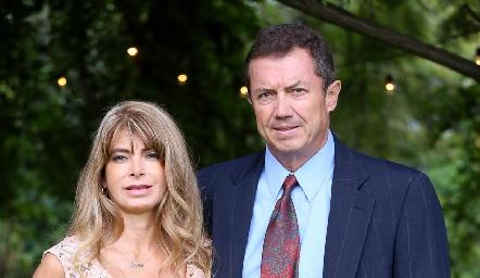 Lorena y Gerardo Hernández.