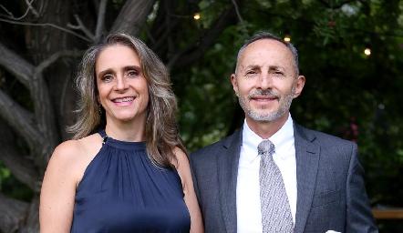 Diana Barba y Francisco Hernández.