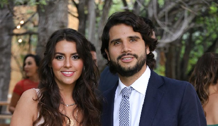 Vicky Álvarez y Rodrigo Mercado.