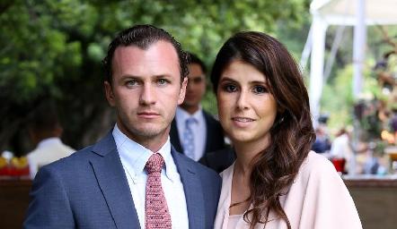 Andrés Meade y Fernanda Solórzano.
