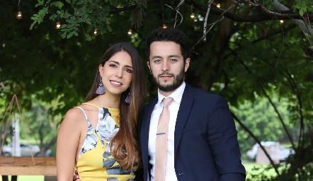 Adriana Estrada y Juan Carlos Dibildox.