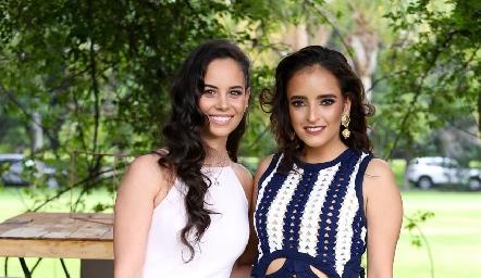 Alynn Ruiz e Isa Torres.