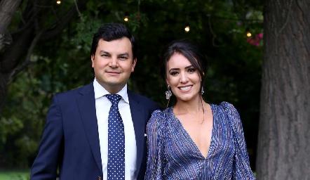 Raúl Torres y María Cecilia Herrera.