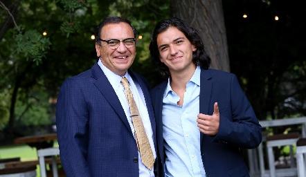 Arturo y Rodrigo Meade.