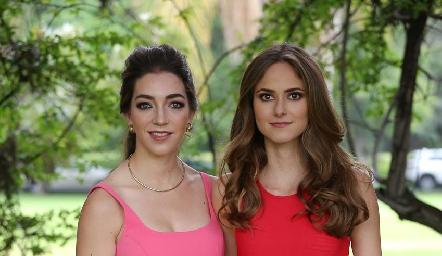 Mónica Garza y Vicky Pérez.