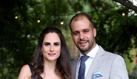 Jessica Medlich y Brohim Tanus.