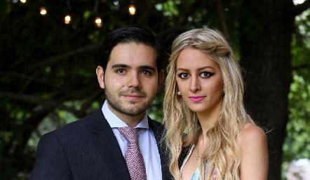 Mauricio Mahbub y Valeria Guerrero.
