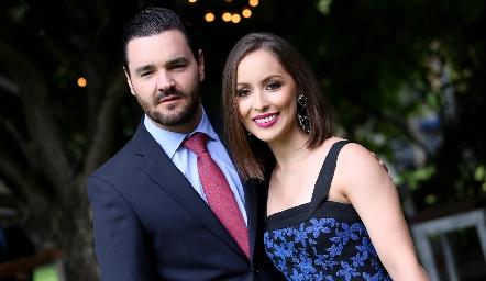 Luis Alberto Mahbub y Laura Bravo.