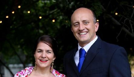 Gabriela y Mauricio Sarquis.
