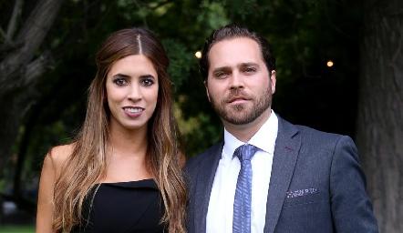 Daniela Güemes y Guillermo Paredes.