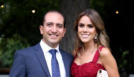 Diego Bocard y Jocelyn Córdova.