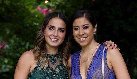 Daniela Ornelas y Alejandra González.