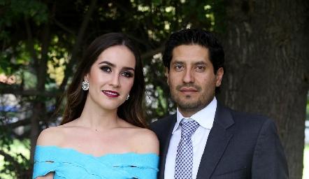 María José Villalpando y Oscar Guerrero.