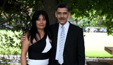 Leticia y Andrés Azcárate.