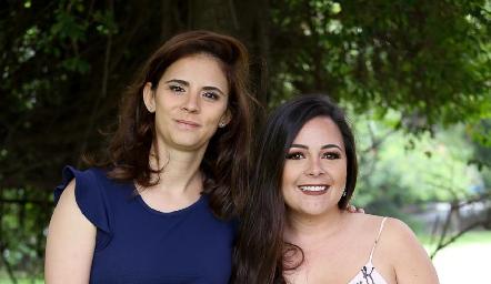Fernanda Zárate y Susana Lozano.