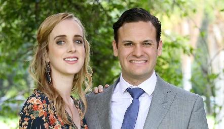 Mariana Fernández y Jorge Pizzuto.