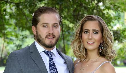 Pablo Torres y Lucía Martín Alba.